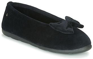 Isotoner 97258 women's Flip flops in Black