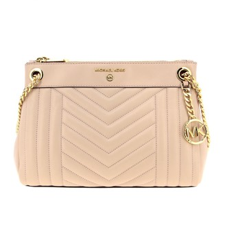 MICHAEL Michael Kors Shoulder Bag Susan Shoulder Bag In Chevron Leather
