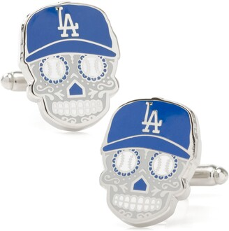 Cufflinks Inc. LA Dodgers Sugar Skull Cuff Links