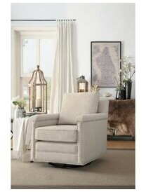 """Thumbnail for your product : Red Barrel Studio Giglio 31"""" Wide Swivel Armchair"""