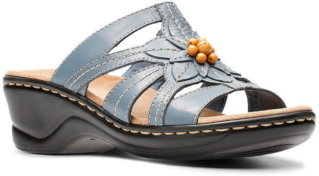 d8869ce03b5e Clarks Brown Leather Sandals For Women - ShopStyle Canada