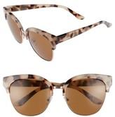 BP Women's 60Mm Cat Eye Sunglasses - Tort