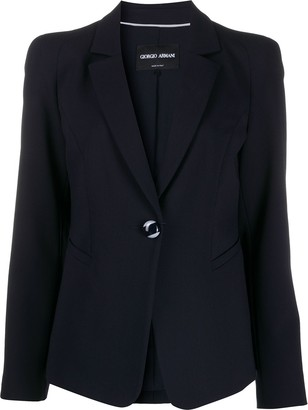 Giorgio Armani V-neck button up blazer