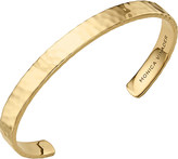 Monica Vinader Alta 18ct gold-plated rectangle sterling silver cuff