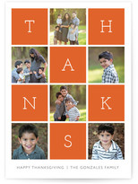 Minted Thanks Squared Thanksgiving Cards