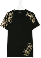 Diesel printed T-shirt - kids - Cotton - 14 yrs