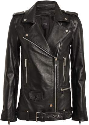 LTH JKT Emi Boyfriend Leather Moto Jacket