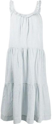 The Great Magnolia striped-print dress