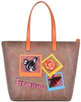 Etro Paisley Patterned Shopping Bag
