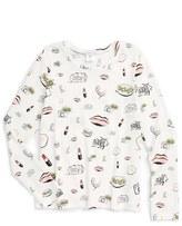 Little Marc Jacobs 'All Over Fancy' Print Top (Toddler Girls, Little Girls & Big Girls)