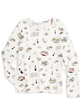 Little Marc Jacobs Girl's 'All Over Fancy' Print Top