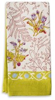 Couleur Nature 20-inches by 30-inches Fleur Tea Towels, Petit, Green