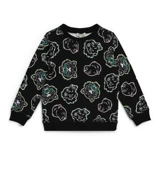 Kenzo All-Over Icon Tiger Sweatshirt