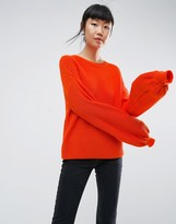 Asos Sweater With Volume Sleeve