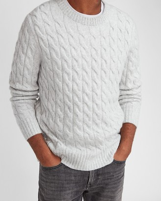 Express Cozy Cable Knit Sweater