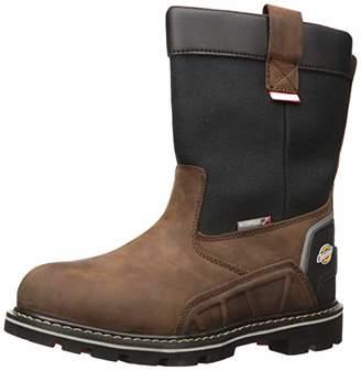 Dickies Men's Galveston Pull On Steel Toe EH Waterproof Industrial Boot