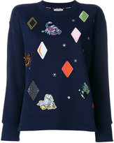 Opening Ceremony embellished patch jumper