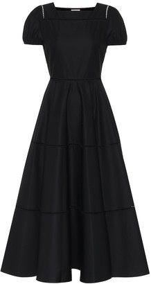 Alaia Cotton-twill dress