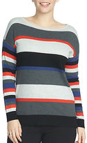 Chaus Striped Pullover Sweater