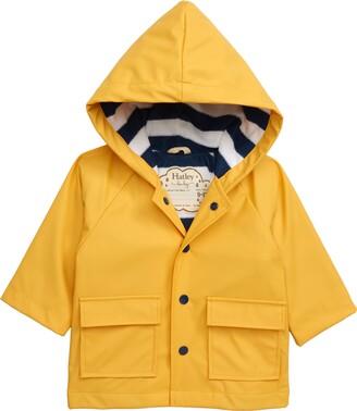 Hatley Yellow Waterproof Hooded Raincoat