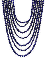 BaubleBar Bold Beaded Multi Strand Necklace