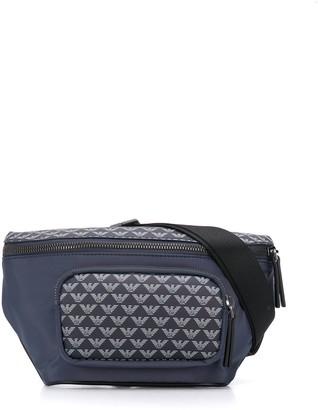 Emporio Armani Repeat Logo Belt Bag