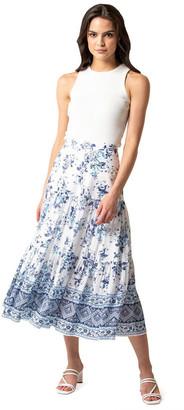 Forever New Petite Lilliana Petite Tiered Maxi Skirt