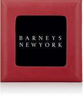 "Barneys New York Studio Grained-Leather 4"" x 4"" Picture Frame"