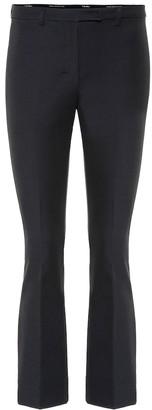 S Max Mara Pevera mid-rise bootcut pants