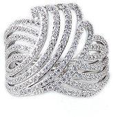 Nadri Ocean Wave Cubic Zirconia Ring