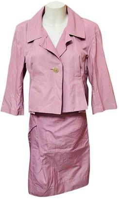 Jil Sander Purple Silk Skirts