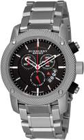 Burberry Men's BU7702 Heritage Chronograph Dial Bracelet Watch