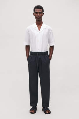 Cos LIGHTWEIGHT COTTON TROUSERS