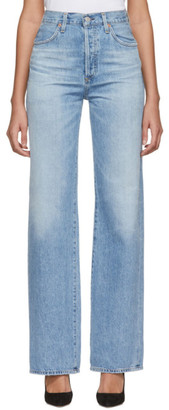 Citizens of Humanity Blue Annina High-Rise Jeans