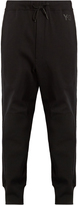 Y-3 Future Craft cotton-jersey track pants