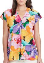 Lauren Ralph Lauren Relaxed-Fit Floral Printed Top