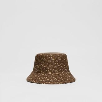 Burberry Monogram Print ECONY Bucket Hat