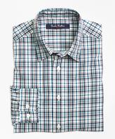 Brooks Brothers Cotton Multiplaid Sport Shirt