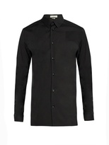 Balenciaga Stretch Cotton-blend Poplin Shirt