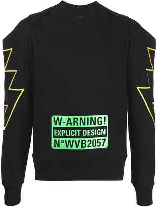Walter Van Beirendonck Pre-Owned Burka sweatshirt
