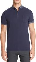 BOSS ORANGE Prynce Tonal Trim Slim Fit Polo Shirt