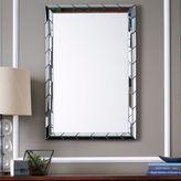 west elm Chevron Tile Wall Mirror