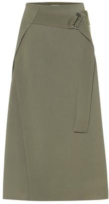 Victoria Beckham Wool midi skirt