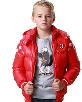 Leo&Lily Little Boys Down Padded Puffer Jacket with Hood