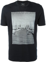 Armani Jeans photographic print T-shirt - men - Cotton - L