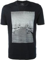 Armani Jeans photographic print T-shirt - men - Cotton - M