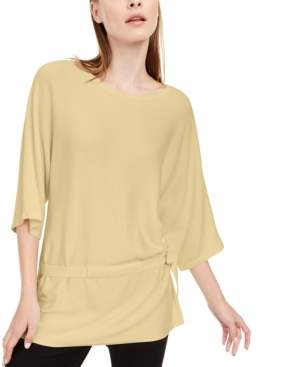 Alfani Petite Tie-Waist Sweater, Created For Macy's