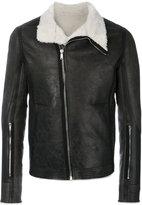 Rick Owens shearling lined jacket