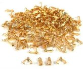 FindingKing 150 Bails Gold Plated Connector Jewelry Necklace Parts