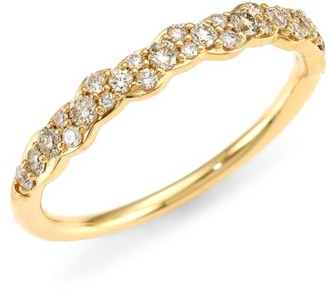 Astley Clarke 14K Yellow Gold & Diamond Pave Ring